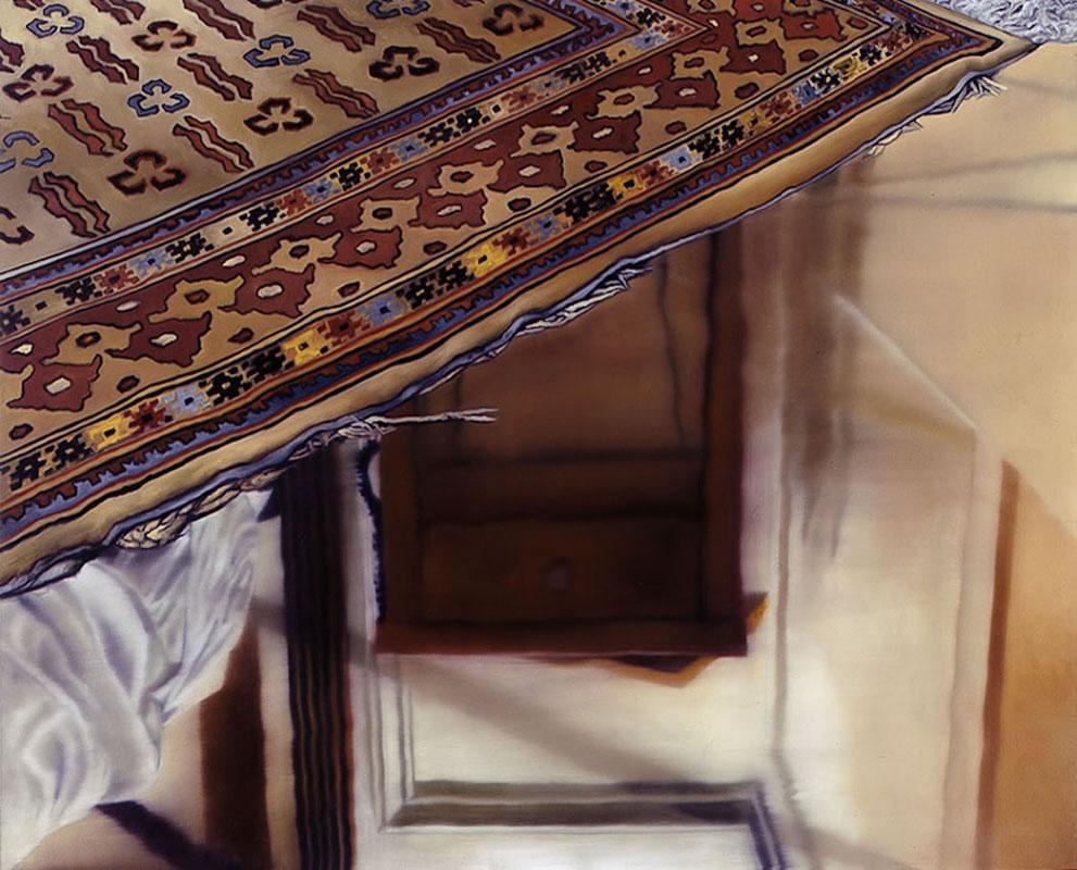 Karin Kneffel Teppich Schlafzimmer