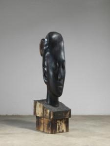 Jaume Plensa, Rui Rui, 2019, Wood, 138 x 34 x 47 cm