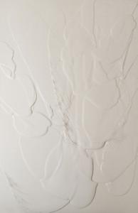 Carla Cascales, Sand Balance, 2020, natural resin on linen canvas, 130 x 81cm