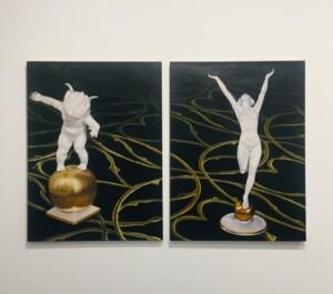 "Karin kneffel, ""No title"", 2020, oil on canvas, 30 x 40 cm"