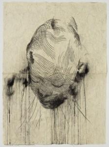 Jaume Plensa,Wilsis's Dream, 2018, Bronze, 203 x 66 x 87 cm