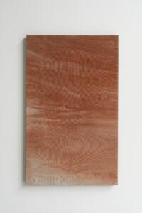 Carla Cascales Alimbau, «Clavos de luna IV», 2020, lacquered ceramic powder sculpture, 40 x 20 x 34 cm